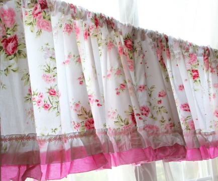 Chic Kitchen Curtain Ideas Picture