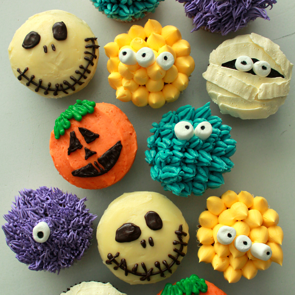 Halloween party appetizer ideas carters kitchenion amazing kitchen designs - Halloween muffins dekorieren ...