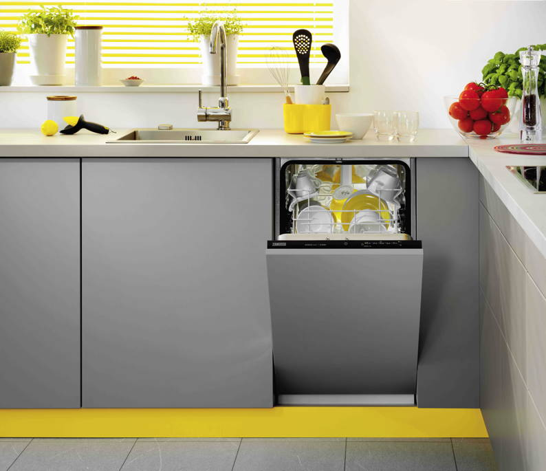 Slim And Compact Dishwashers Ideal For Tiny Kitchens Picture
